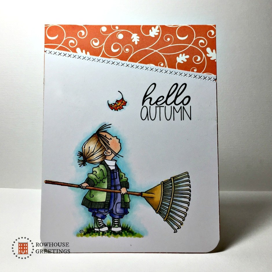 Rowhouse Greetings | Autumn | Hello Autumn by Mo's Digital Pencil