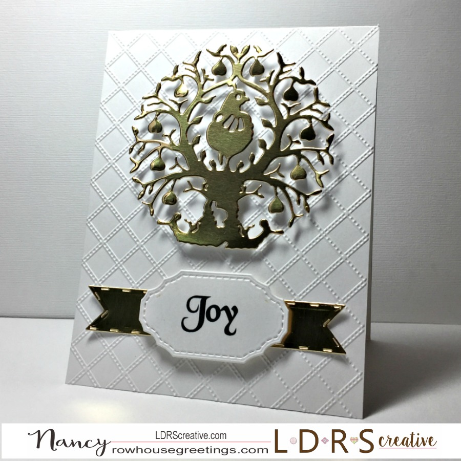 Rowhouse Greetings | Christmas | Partridge in a Pear Tree by LDRS Creative