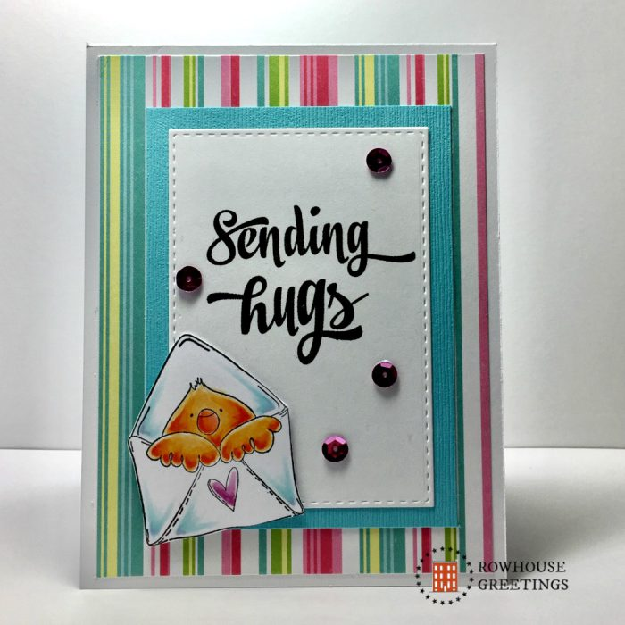 Rowhouse Greetings | Mail Chick by Stamping Bella