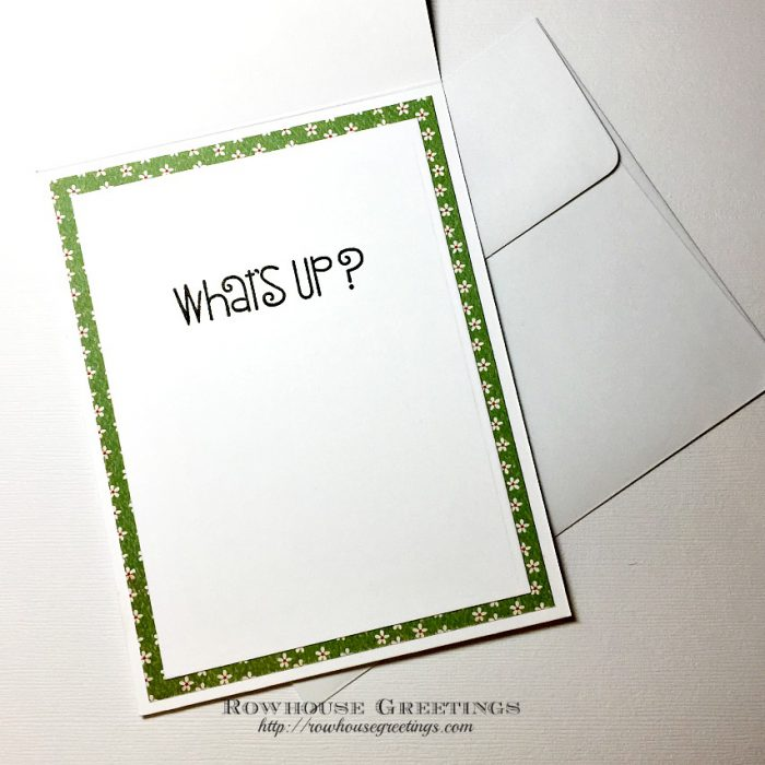 Rowhouse Greetings | Good Gab by Paper Smooches