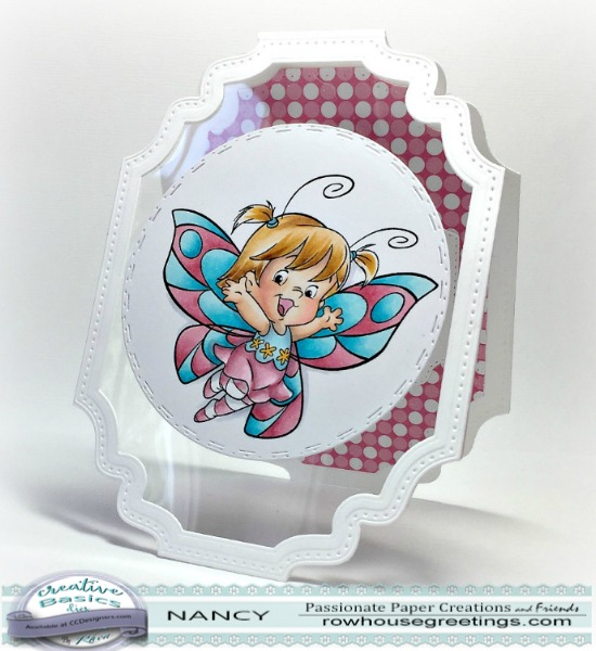 Rowhouse Greetings | Roberto's Rascals Butterfly Twila by C. C. Designs