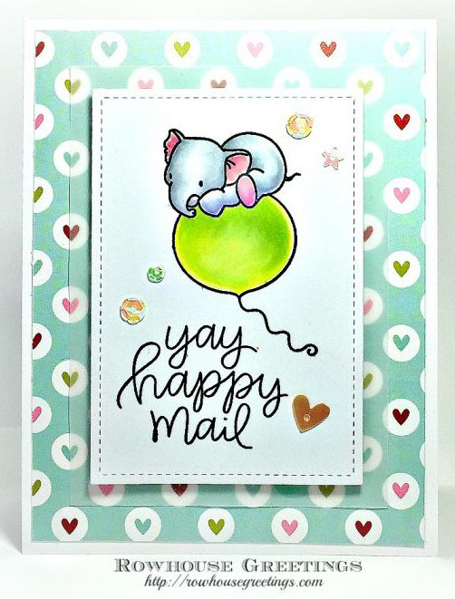 Rowhouse Greetings   Fly With Me By Mama Elephant
