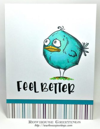 Rowhouse Greetings | Bird Crazy by Tim Holtz