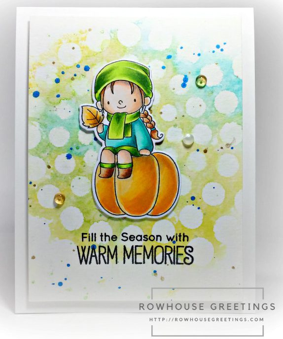 Rowhouse Greetings | BB Fall Friends by My Favorite Things (MFT Stamps)