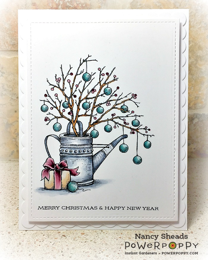 Rowhouse Greetings   Country Home Christmas by Power Poppy