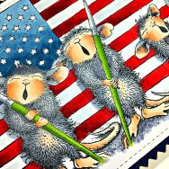 Rowhouse Greetings | Patriotic Painters by House Mouse Designs