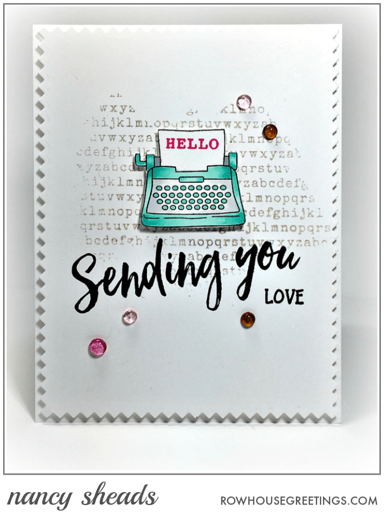 Rowhouse Greetings   My Type by Newton's Nook Designs