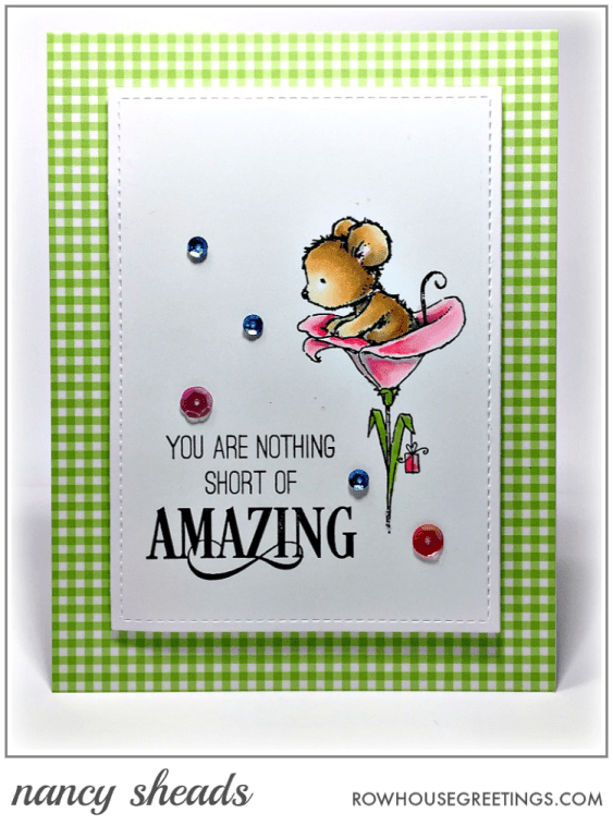 Rowhouse Greetings   Critter Celebration by Penny Black