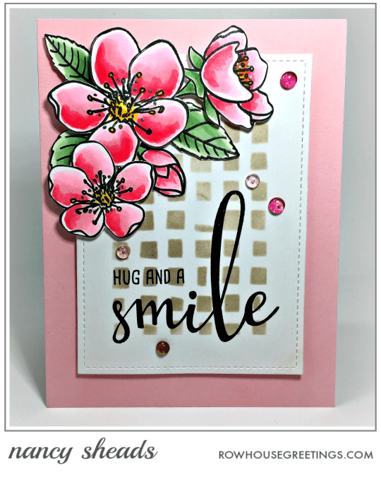 Rowhouse Greetings | Spring Blossoms by Honey Bee Stamps