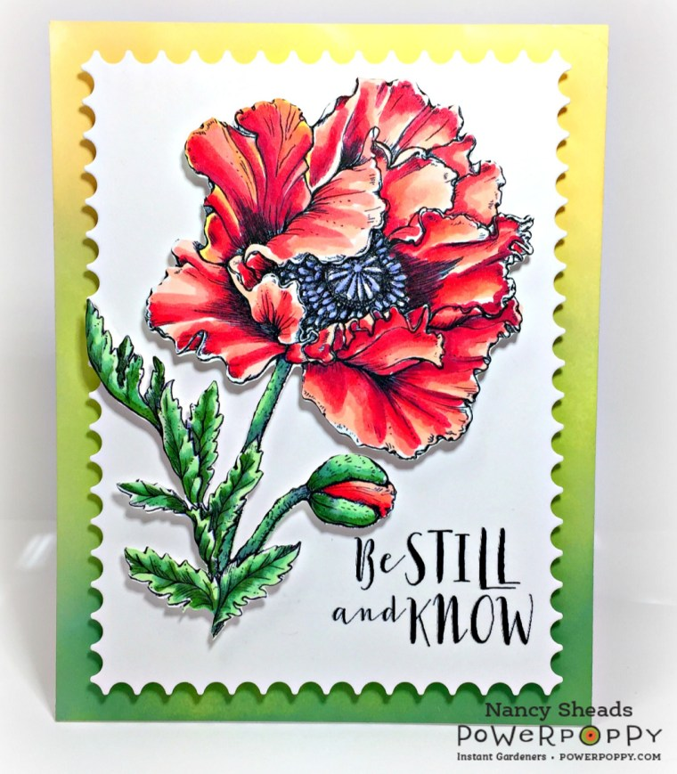 Rowhouse Greetings | Ultimate Poppy by Po