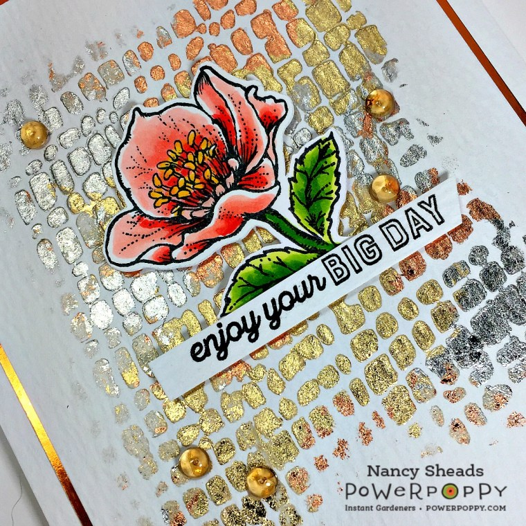 Rowhouse Greetings   Strong and Beautiful by Power Poppy