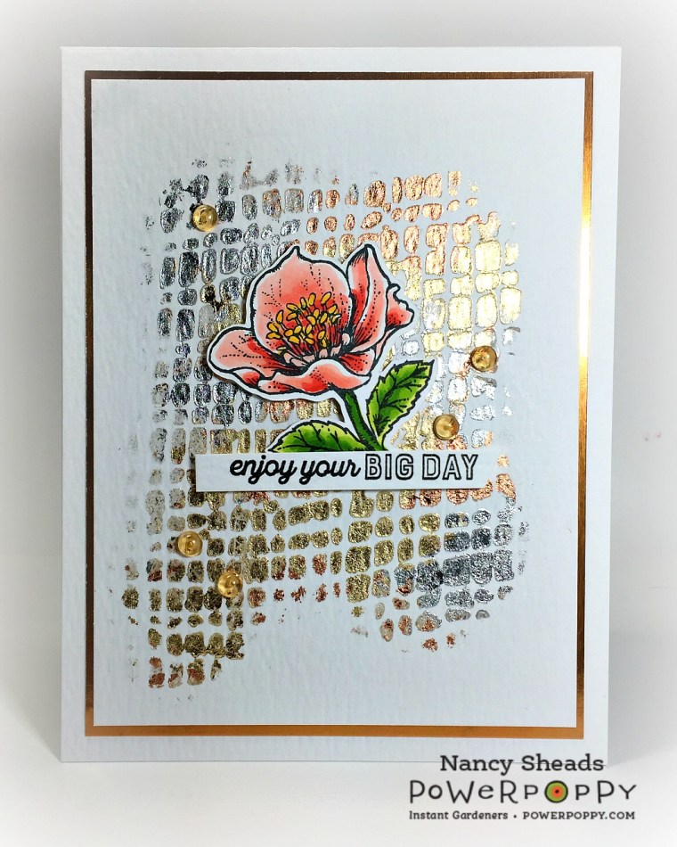 Rowhouse Greetings | Strong and Beautiful by Power Poppy