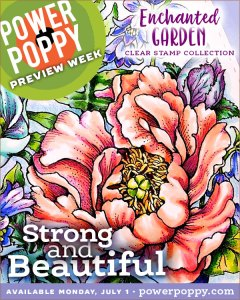 Strong and Beautiful by Power Poppy