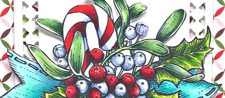 Rowhouse Greetings   Merriest Berries by Power Poppy