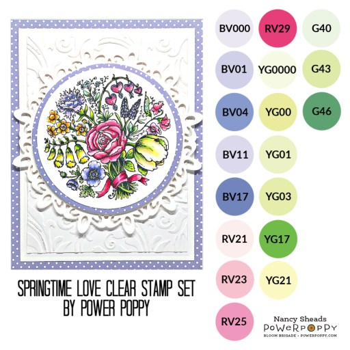 Rowhouse Greetings | Springtime Love by Power Poppy
