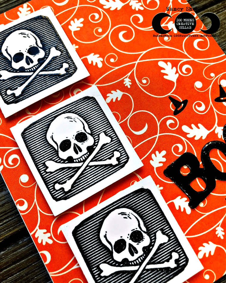 Rowhouse Greetings | Skull and Crossbones by 100 Proof Press