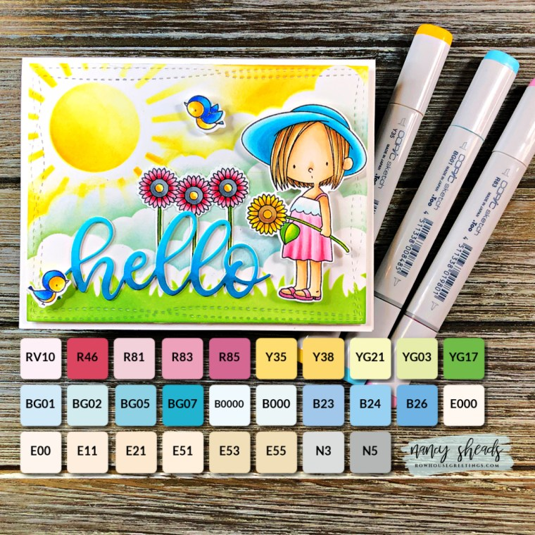 Rowhouse Greetings | BB Sunshine Sweetness by My Favorite Things (MFT Stamps)