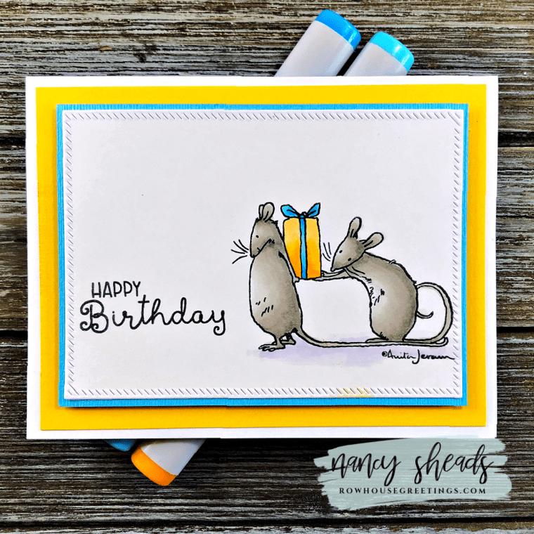 Rowhouse Greetings | Anita Jeram Birthday Wishes by Colorado Craft Company