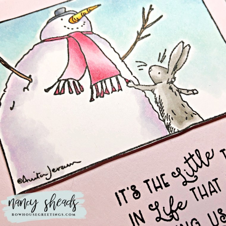 Rowhouse Greetings | Snowmen & Bunnies by Colorado Craft Company