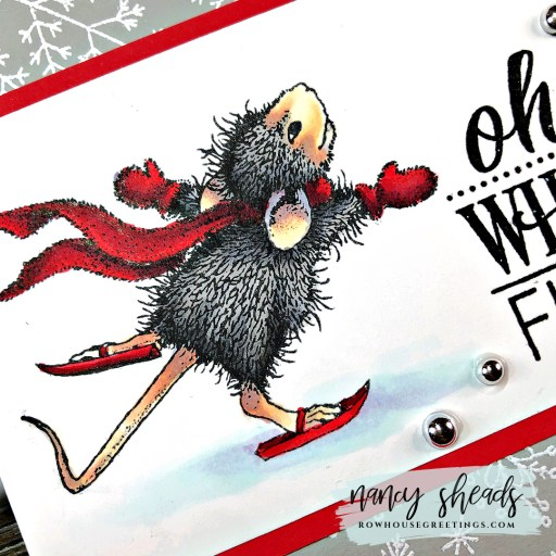 Rowhouse Greetings | Holiday Happy by Stampendous!