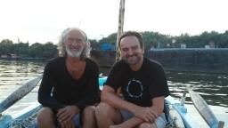Ihsan Banabak and Gerald Harringer in Giurgiu, Romania.