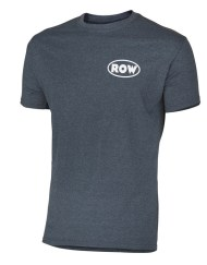 SxS T-Shirt (Just Row) - Athletic Gray