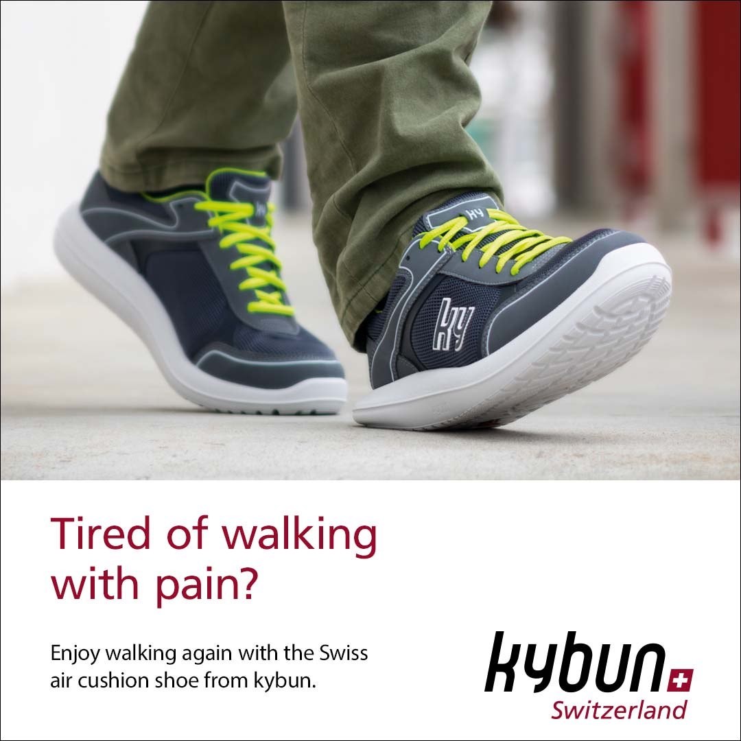 Kubun shoes at Podiatrist Cambridge