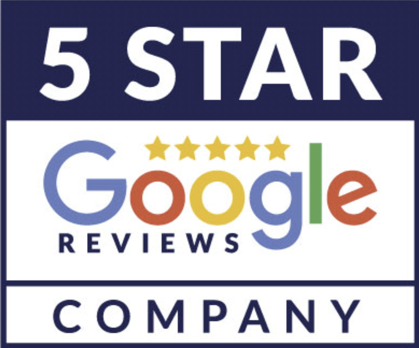Check out our 5-star Google Reviews