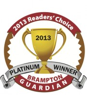 Voted Best Child Care Brampton Guardian 2013