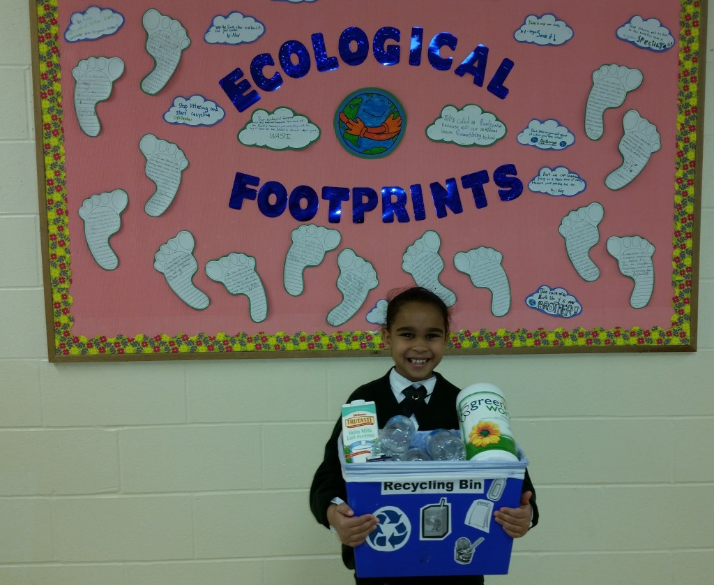 Grade 1 Recycling program