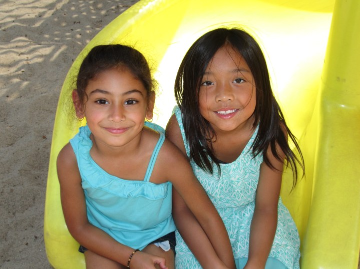 Friends in summer camp at RMS