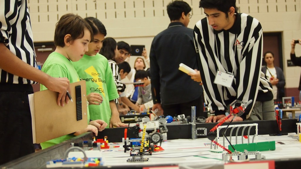 RMS Robotics during Competition