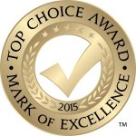 Top Choice Awards logo year 2015