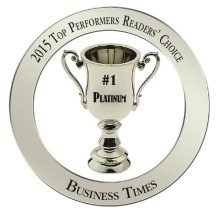 Business Times Reader's Choice Platinum Award