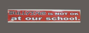 Bullying is NOT OK at our school