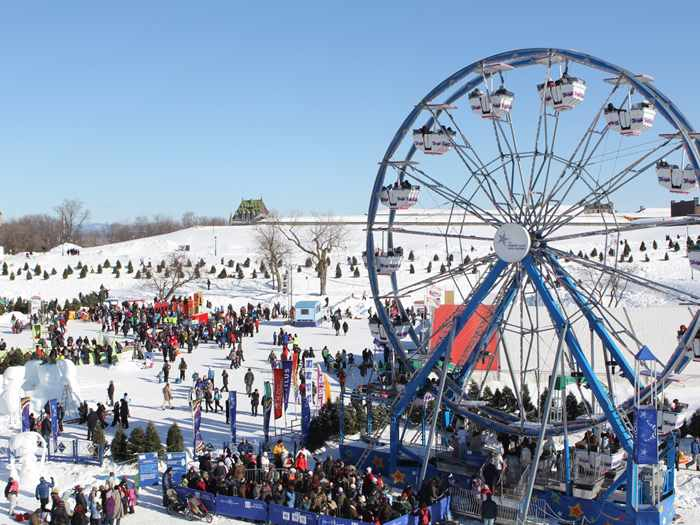 Carnaval Quebec Attractions