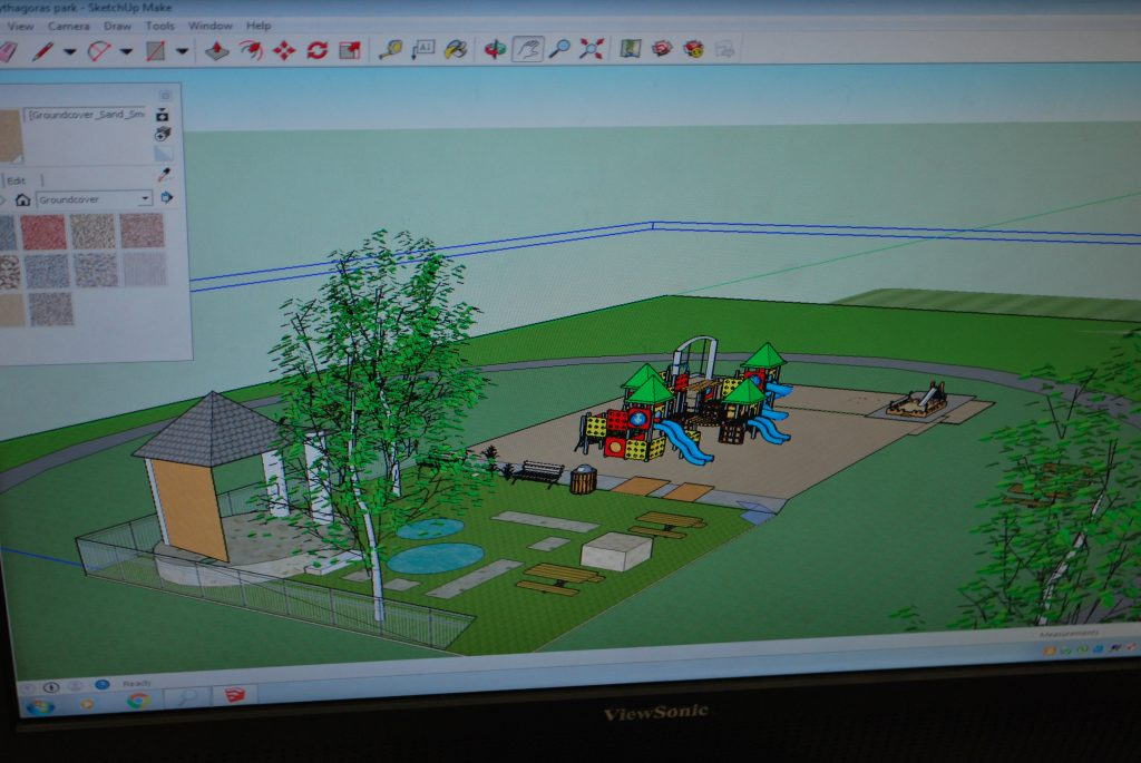 An Example of Grade 8 design work during the planning and design stages