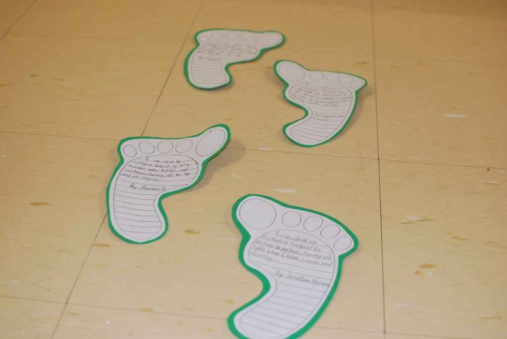 Each ecological footprint tells a story about how we impact the environment