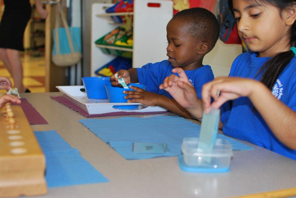 Students attempt different learning activities to strengthen their learning in the classroom