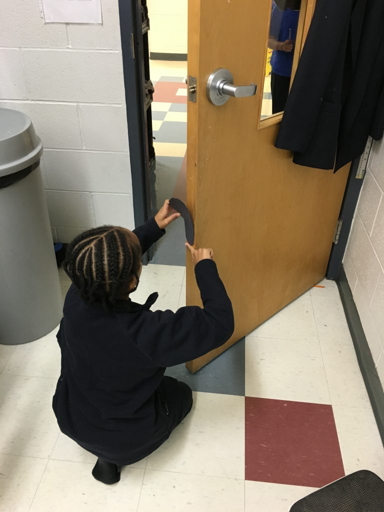 How big is our classroom door?