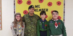 Support for Remembrance Day