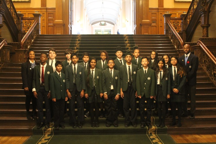 RMS Private School from Brampton at Queen's Park