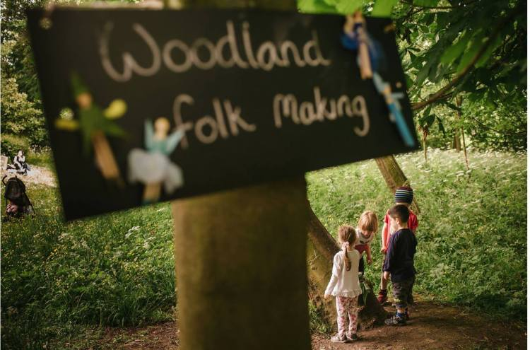 Rowntree park Enchanted Woodland event