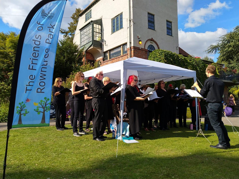 Rowntree park Choir