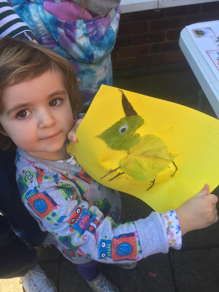 Rowntree Park Autumn crafts children event