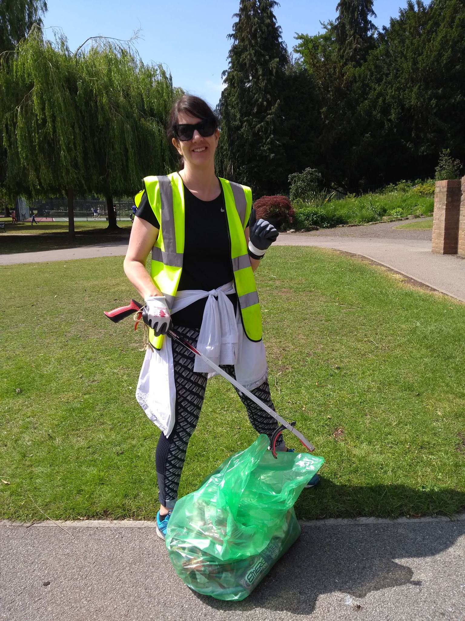 Litter Picking Rowntree park