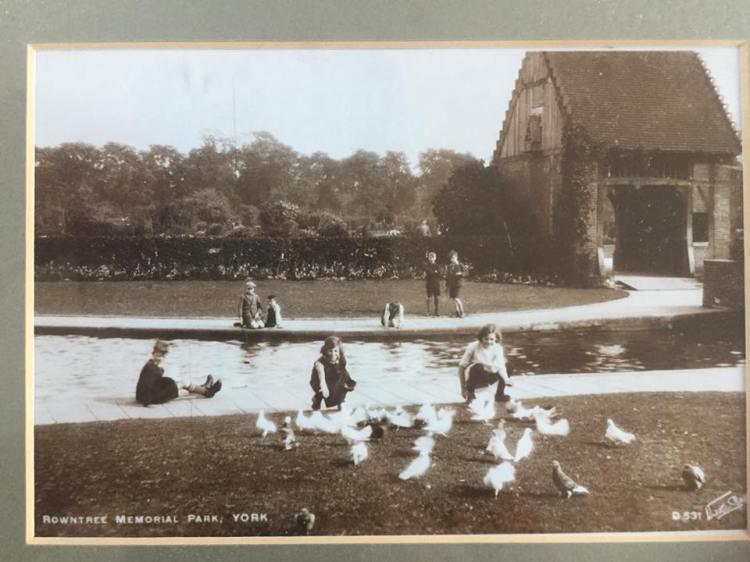Rowntree Park History Lychgate 1940s