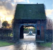 Rowntree Park Lychgate dove cot
