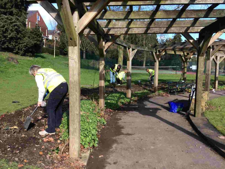 Rowntree Park Volunteers Friends f Rowntree Park