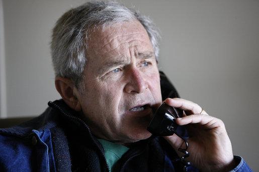 bush-phone-30-dec-08-crawford-eric-draper